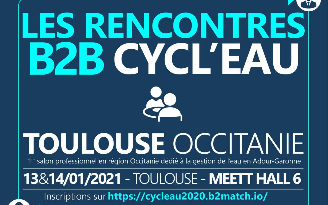 WynSep présent au salon Cycl'eau au MEET de Toulouse