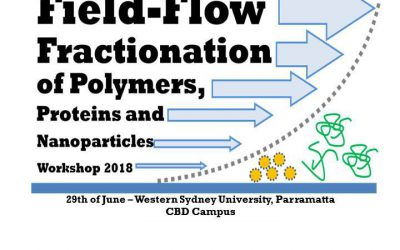 Wynsep Sponsors Sydney FFF Seminar on Polymers, Proteins and Nanoparticles